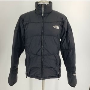 North Face 550 Goose Down Jacket Black Puffer